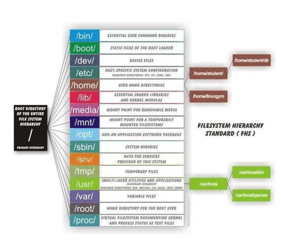 Linux Directory Structure -Automation Laboratories